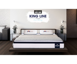 Двулицев матрак KING LINE COOL MEMORY 72/190 см.