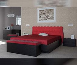 Легло с тапицирана табла Маркиза