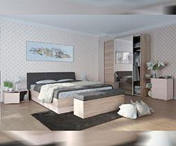 Легло с тапицирана табла Фаворит
