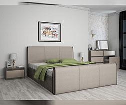 Легло с тапицирани детайли Медеа