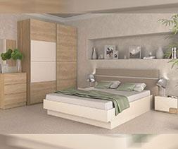 Спалня с тапицирана табла Каприз