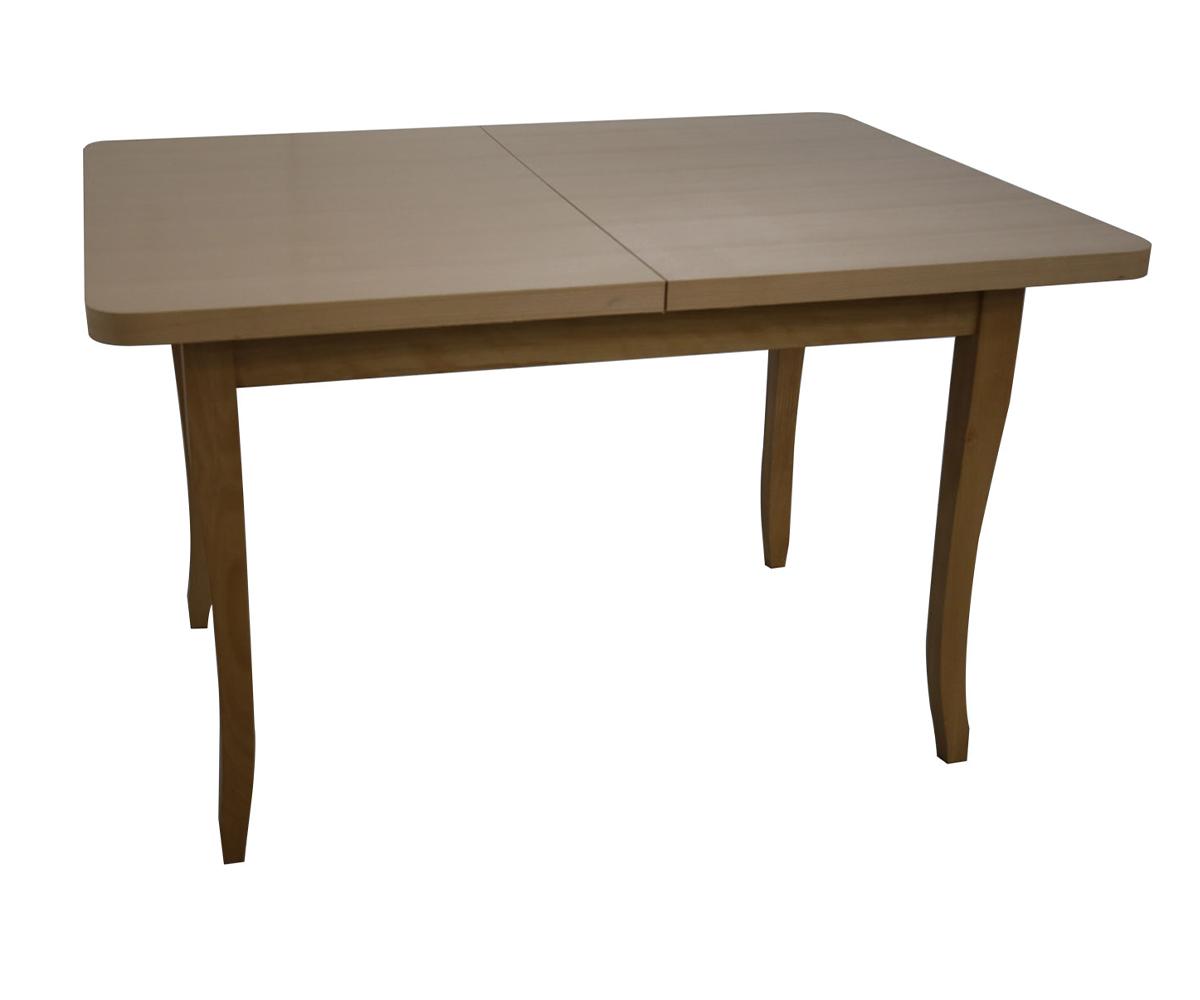 Правоъгълна маса за  трапезария 80 см./120 + 30 см./ 75 см.