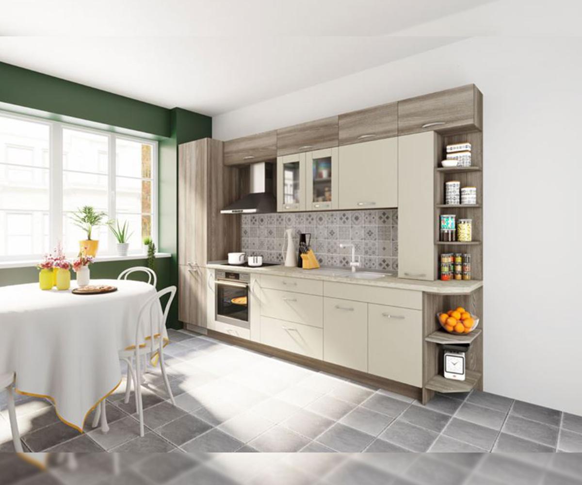 Комплект модулни кухненски мебели Дориан