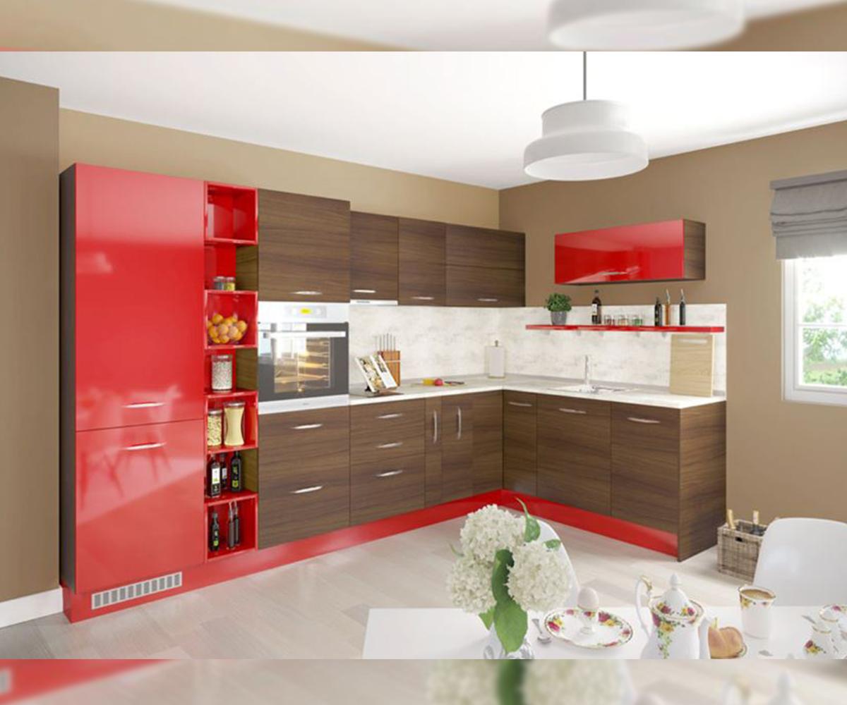 Модулна ъглова кухня Нони