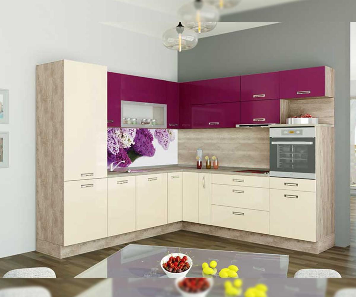 Кухненско обзавеждане ъглов модел Кивано