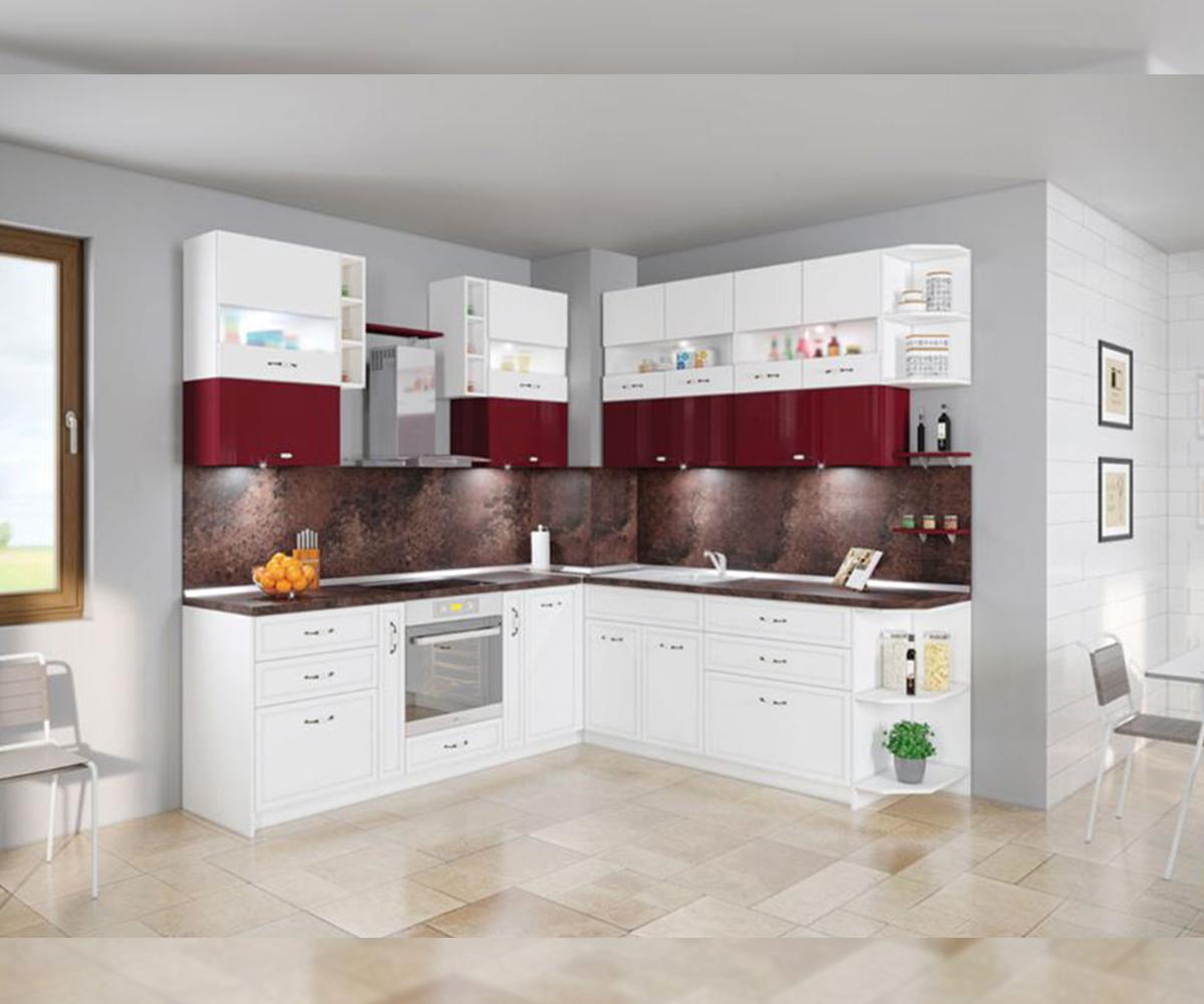 Модулна кухня ъглов модел Папая