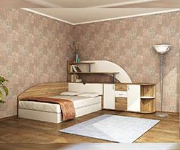 Мебели за спалня комплект Тоскана