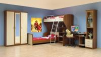 Детска стая за две деца Симпли - 1
