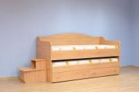 Двуетажно детско легло сандвич Ян Бибиян